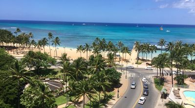 Photo for Amazing Diamond Head and Ocean Views, Prime Location-Free High Speed Wifi