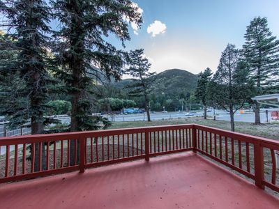 Photo for Cozy Mountain Duplex close to Manitou Springs, Woodland Park and across the street from the Santa`s
