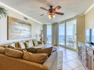 Photo for Inviting, Gulf Front Condo w/ Beach Setup Included, Near Entertainment