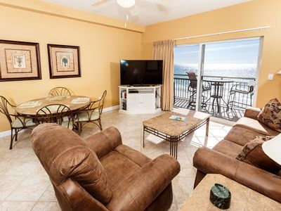 Photo for Pelican Isle 602: TOP FLOOR 1BR/2BA OFFERS THE BEST VIEWS AROUND! VERY COMFY