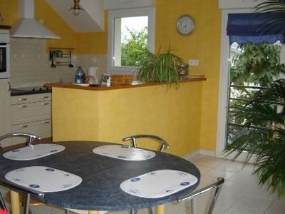 Photo for Concarneau- Beautiful Bright apartment, 2 bedrooms, in small quiet building