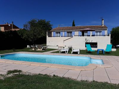 Photo for House Villa with pool 1 bedroom, separate toilet view Luberon, on 1000m2