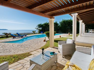 Photo for Kefalonia Villa, Sleeps 4 with Pool and Air Con