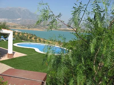 Photo for Spectacular Views Of Lake Vinuela And Mountains