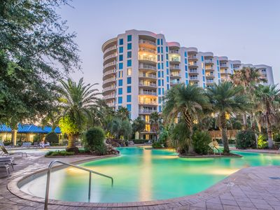 Photo for ☀Palms Resort 2403 Jr 2BR☀OPEN Apr 21 to 23 $635! Updated! Lagoon Pool- Fun Pass