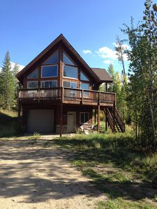 Photo for Custom built Family Chalet in Rocky Mountains