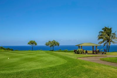 15th Fairway and the Cliffs over the ocean. Listen to the waves at night.