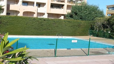 Photo for Apartment T3 - 4/6 people - Swimming pool residence - Sainte Maxime