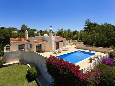 Photo for Villa on a quiet location with sea views and a heatable private pool