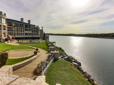 Photo for Dog-friendly, waterfront condo w/ shared pools, hot tubs, tennis, & gym
