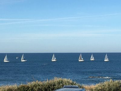 Photo for Villa Tanchet SEA FACE at the foot of the beach 4 ch Super Baie des Sables view