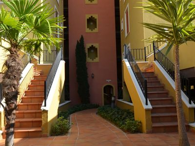 Photo for Punta del moral Apartment, Sleeps 5 with Pool, Air Con and WiFi