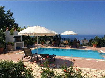 Photo for Beautiful Holiday Villa '- In Kefalonia (Lourdas)  FREE WIFI