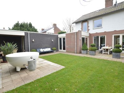 Photo for Luxury home with enclosed garden and Dutch design hottub in cozy Limburg village