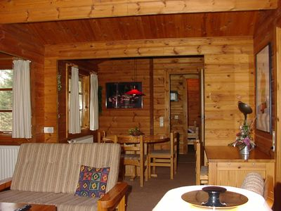 Photo for Family friendly log cabin in Ferienpark Twistesee