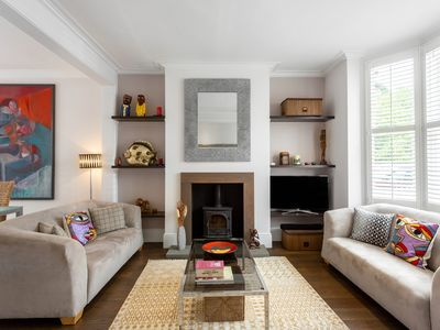 Photo for Elegant and arty 3BR Home with garden, easy way to Central London, by Veeve
