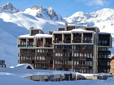 Photo for Apartment 318 m from the center of Tignes with Lift, Internet, Balcony (98733)