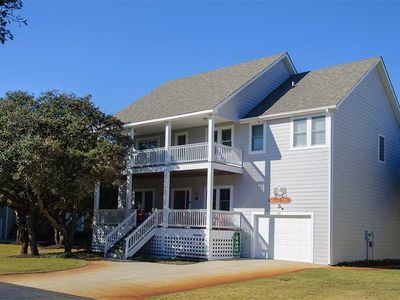 Photo for Heron's Nest: Stay in the famous Currituck Club. Private pool and hot tub.