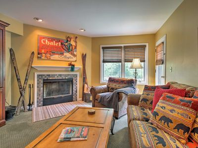 Photo for NEW! Rustic Ski-in Killington Condo w/Pool Access!