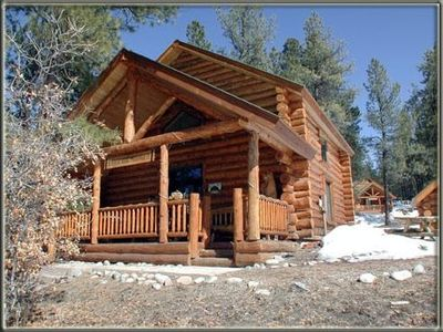 Photo for Rustic 3 bedroom cabin in Durango