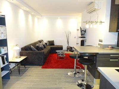 Photo for Central Cannes large studio: 10 mins walk to Palais perfect for MIPIM and LIONS