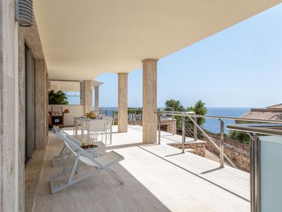 Photo for VISTAMAR CALA MAGRANA. Private pool / jacuzzi, spectacular ocean view