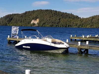 Let me take you on our private jet to lake Rotoiti hot pools, only accessible by boat, incredible scenery, amazing hot pools, incredible experience. talk to us about pricing on this