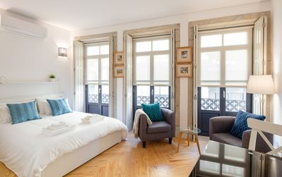 Photo for JOY studio apartment in the center of Porto with air conditioner,  Wi-Fi, TV
