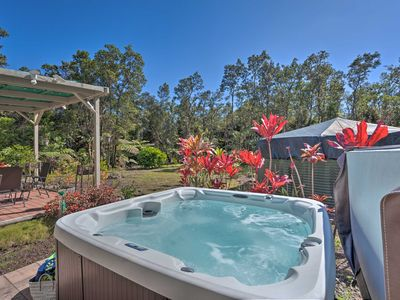 Photo for Tranquil Island Home w/ Lanai & Hot Tub!