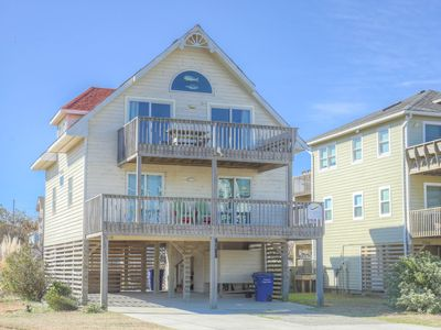 Photo for ON BEACH ACCESS - Right in front of House!  POOL HOT TUB Ocean Views + YMCA Pass