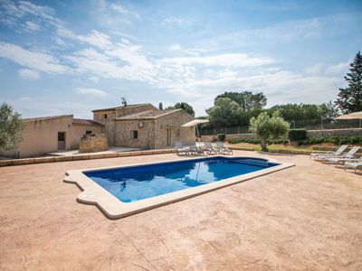 Photo for Costitx Holiday Home, Sleeps 8 with Pool, Air Con and Free WiFi