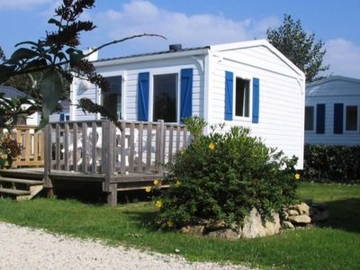 Photo for Camping Les Genets **** - Mobile home 2 Rooms 2/3 People