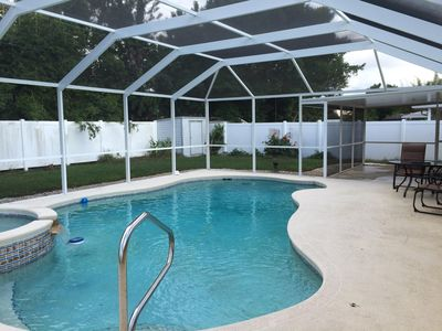 Photo for Cozy Family Home With Private Pool - 10 min to Bradenton Beach !