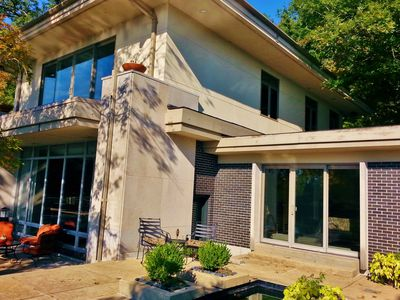 Photo for Mid Century Modern Home w/ Private Pool & Lake on 50 Acres