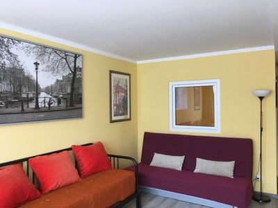 Photo for small modern apartments Munich / Uhaching with sleeping chambers