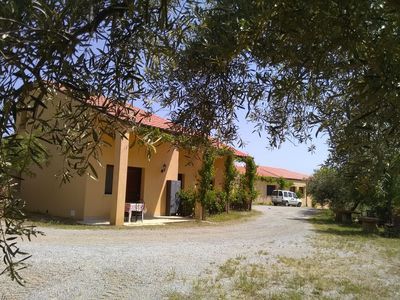 Photo for Lovely apartment in villa for 4 guests with A/C, WIFI, TV, pets allowed, panoramic view and park...
