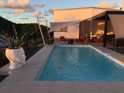 Photo for NEW ! 2 BEDROOMS COCO CANNELLE ANNEXE, POOL, IN DESHAIES, CLOSED TO BEACHES