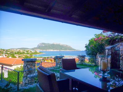 The Patio & the view