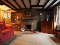 Cosy and charming stone cottage in rural setting.