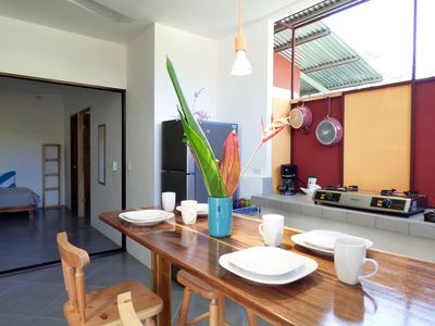 Photo for Fully equipped apartment, 1min walk to the beach, groceries, restaurants...