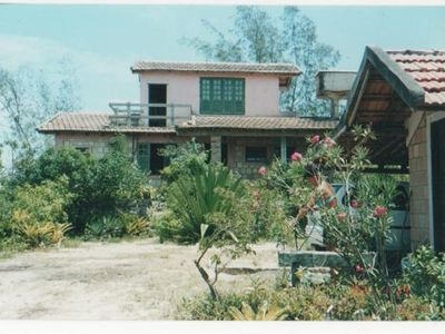 Photo for Comfortable 3 bedroom house with beautiful views of the sea and lagoon