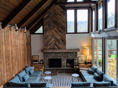 Photo for Deer Run, Catskill Chalet - w. Fire place - Close to ski and wedding venues