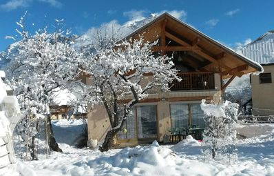Photo for Chalet for 10 people in Puy St Vincent 150m from the slopes private parking