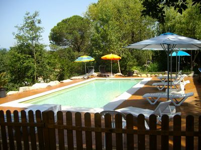 Photo for Beautiful villa with pool for 15 persons saline inside the Costa Brava