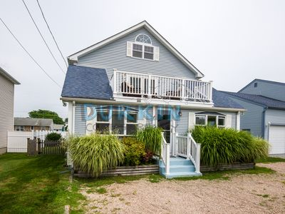 Photo for Modern Cape, Walk to Beach, Spacious Bedrooms, Loft, Private Backyard and Deck