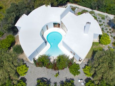 Photo for This 3-bedroom villa for up to 6 guests is located in Ialyssos / Trianta and has a private swimming