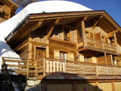 Photo for LUXURIOUS CHALET MOUNTAIN HOME WIFI 6/8 pers.