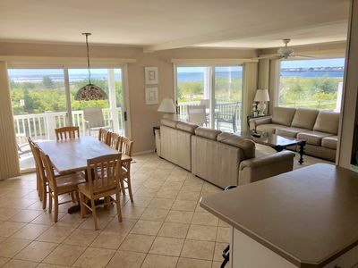 Photo for Clean & Comfortable BEACHFRONT w/Sweeping Townsend Inlet & Avalon Skyline Views!