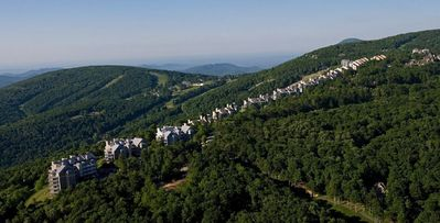 Wintergreen - see our condo nestled in the Blue Ridge Mountains