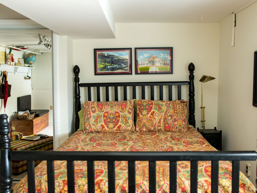 basement apartment bedroom. Entry Bedroom with Queen Bed Charming English Basement Apartment steps f  VRBO